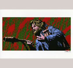Kurt Russell poster print art by Jim Blanchard Carpenter's The Thing Death Proof