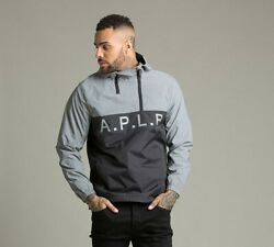 Mens Alpha Lab Beyond Double 12 Zip BlackReflective Hooded Top (PA1)RRP £69.99 $39.25