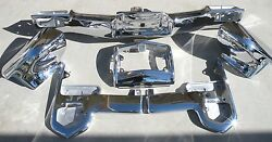 Cadillac New Triple Plated Chrome Front Bumper 1965 65 Oem