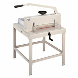 Guillotine Manual Paper Cutter 3971 Heavy Duty 18.7 Wide Led Cutting Guide