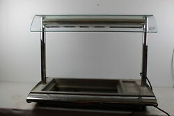 CED Fabrications TTC2 Commercial Grill / Warmer / Bain Marie w/ Lamps 230V