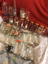Lot Of Glass Jars For Diy Projects28 Jars/1 Candle Jar/1 Soda Bottlemisc.sizes