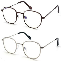 Blue Light Blocking Glasses For Daily Computer Reading Use Anti Eye Strain $7.95