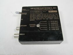 Microtek Minilink 2.4 2418mhz To 2466mhz Video Transmitter Untested As-is