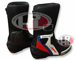New Motorcycle BMW s1000rr Leather Bikers shoes/boots