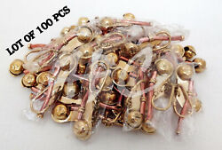 Bosun Whistle Key Chain Ring Copper Finish Collectible Antique Lot Of 100 Pcs