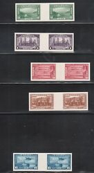 Canada 241p - 245p And C6p Extra Fine Mint Gutter Proof Pairs