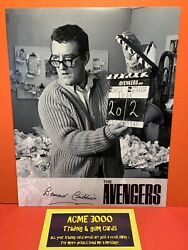 Unstoppable Avengers Complete Collection Bernard Cribbins Autograph 10x8 26/50
