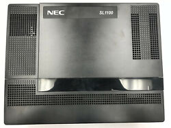 Nec Sl1100 Business Telephone System W/ 6 Ip Phones, Wireless Phone And Adapter