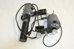 Canon ZSD-300M and FPD-400 Full Servo Zoom & Focus Controls Excellent Condition