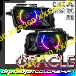 Oracle Halo Headlights Chevrolet Camaro Rs 10-13 Colorshift Dynamic And Hid