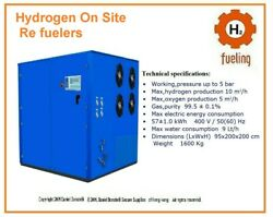 Hydrogen Re Fueling Unit For Forklifts and small Devices Engines and Burners