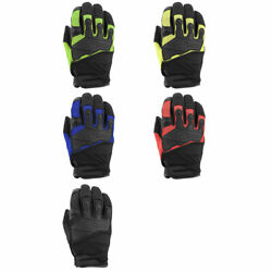 2020 Speed And Strength Hammer Down Leather And Mesh Motorcycle Gloves -size And Color