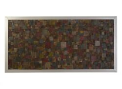 81 Long Puzzle Wall Art Rectangle Wood 803