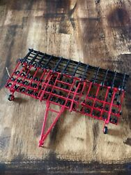 1/64 Custom Sunflower 42ft Cultivator With Rolling Basket Farm Toy