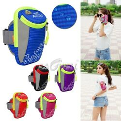 Nylon Outdoor Sports Arm Band Case Wrist Armband Bag Phone Pouch For Mobile HOT $6.68
