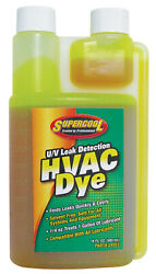 Supercool 24551 Hvac Hvacr Uv Dye Concentrate Detect And Find Leaks 16oz 480ml