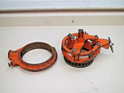 Victaulic Vic-groover Vg-5 5 5 Pipe Cut Grooving Tool Yoke Ratchet Blade Used