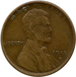 1915 S Lincoln Wheat Cent Xf Extra Fine Penny