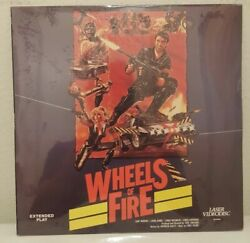 Wheels Of Fire Action Adventure New Factory Sealed Laserdisc Best Offer