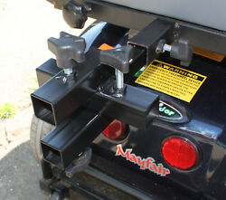 Mobility Scooter Quad Receiver Four Way Adaptor Trailer Multi Accesory Tow Hitch