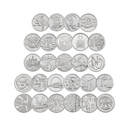 10p A-z Alphabet 10 Pence 2018 And 2019 Uncirculated Coins - Various Designs