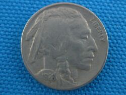 1928 S United States Buffalo Nickel 5 Cent Coin