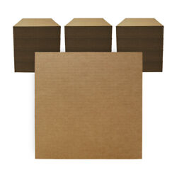 300 - 12 X 12 Corrugated Cardboard Pads/inserts/sheets 32 Ect Made In Usa