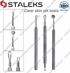 New Staleks Professional Cosmetic Clear skin set tools ZBC 30 ZBC 20 1 $29.99