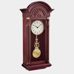 BULOVA WALL CLOCK quot;NEW YORKERquot; C 1516 WITH TRIPLE CHIMES