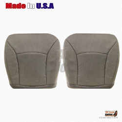 Front Bottoms Seat Cloth Cover 2000 -2002 Ford E Series Econoline Cargo Van Tan