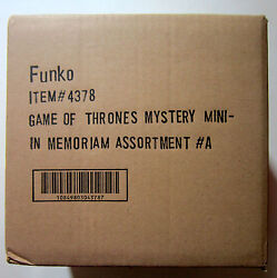 Funko Game Of Thrones Mystery Mini Series 12 Pack In Memoriam Set Toys Sdcc 2014