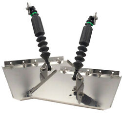 Nauticus St780-30 Smart Tab Trim Tabs 7 X 8 10-12and039 Boats 20-25 Hp