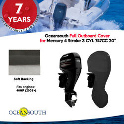 Oceansouth Outboard Storage Full Cover Mercury 3 Cyl 747cc 20