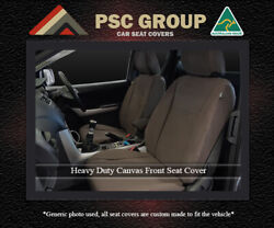 Seat Covers Fits Jeep Grand Cherokee Canvas Waterproof Front Pair