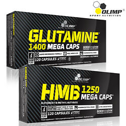 Glutamine + Hmb -muscle Recovery And Strength Builder -lean Mass Growth Fat Burner