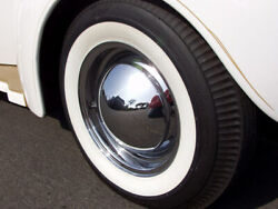 Aftermarket 15 Rim Any Tire White Walls Port A Wall 2+2 4pcs Vw Classic Beetle