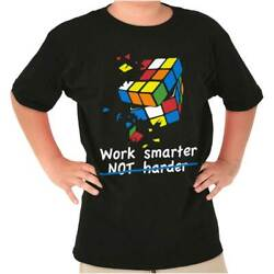 Official Work Smarter Not Harder Graphic Gift Youth Child T-Shirt Tshirts Tees $7.99