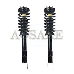 2x Suspension Quick Struts And Coil Springs Assemblies Front For 2009-14 Honda Fit