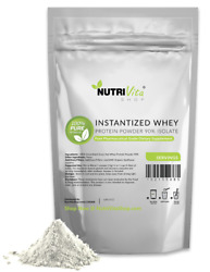 5lb 100 Organic Instantized Whey Protein Isolate + 1000g Creatine Monohydrate
