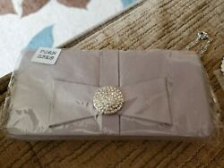 Cleopatra Silver Evening bag purse $7.00