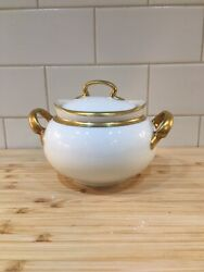 Hutschenreuther Selb Louise Sugar Bowl Bavaria Germany