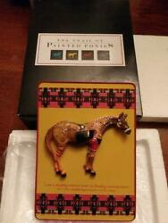 Trail Of Painted Ponies 1e/1072 Ghost Horse Plaque Still In Black Box