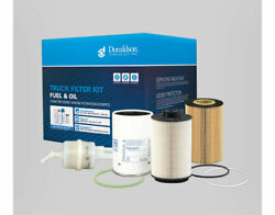Truck Fuel And Oil Filter Kit X900071 For Volvo D7e Fe Euro 5 Fk19-b1 Donaldson