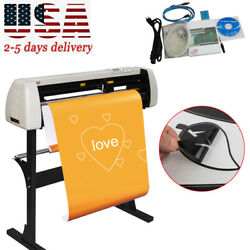 33 Inch 850mm Paper Feed Vinyl Cutter Plotter Sign Cutting Plotter From Usa