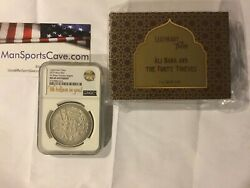 Rare Ms69 Ali Baba And The Forty Thieves 2019 1 Oz Fine Silver Coin - Niue Only 1