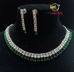 High Quality Indian Bollywood Ethnic fashion Partywear Necklace set Ia345