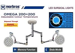 Shadowless Ot Light Led Operating Light Surgical Operating Lamp Double Dome