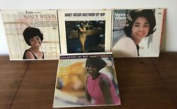 Nancy Wilson 4 Lp Lot A Touch Of Today- Hollywood/broadway My Way-today,tommorow
