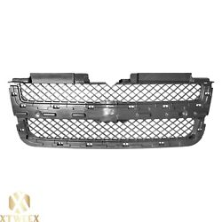 Gray Inner Front Grille Grill W/o Trim For 06-07 Chevy Trailblazer New Parts